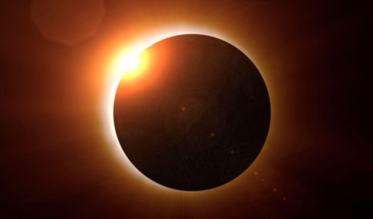 Inusual jornada astronómica: eclipse de sol y lluvia de meteoros