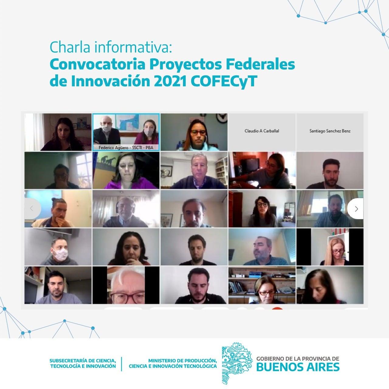Abrió la convocatoria COFECYT para Proyectos Federales de Innovación 2021